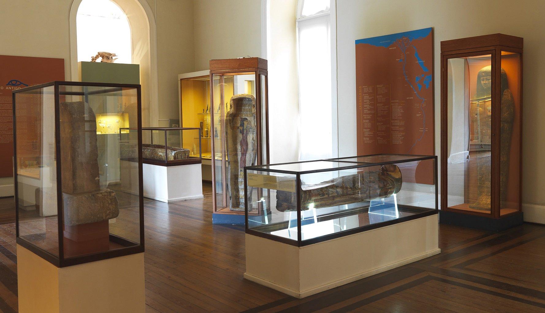 National brazil museum inside
