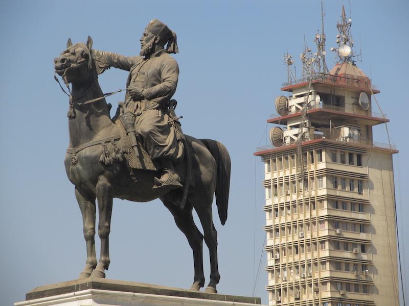 Ibrahim Pasha Statue