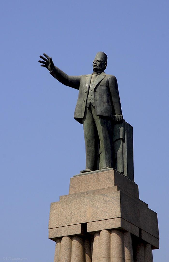 Saad Zaghloul Statue