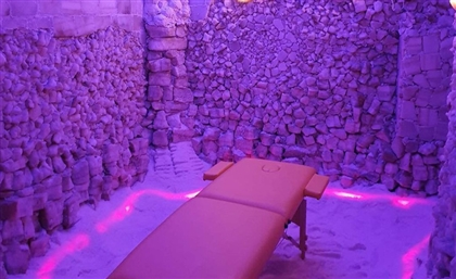 Phi Salt Cave Brings Siwa-Style Salt Therapy to Cairo