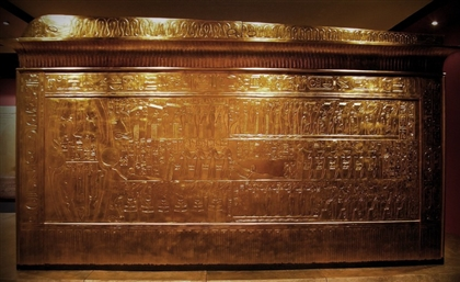 Grand Egyptian Museum Welcomes Tut's Second Shrine Ahead of Launch